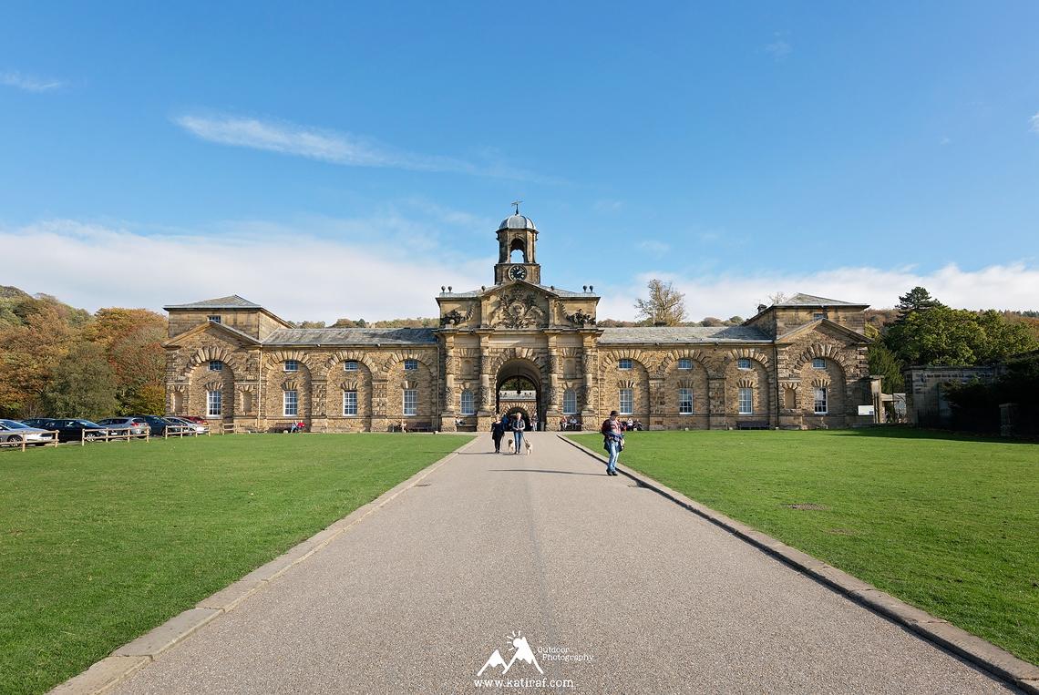 Rezydencja Chatsworth House - spacer do wieży Hunting Tower