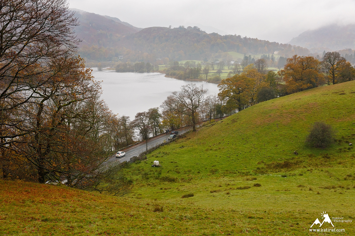 Wędrówka nad jezioro Grasmere, Lake District, Anglia, www.katiraf.com