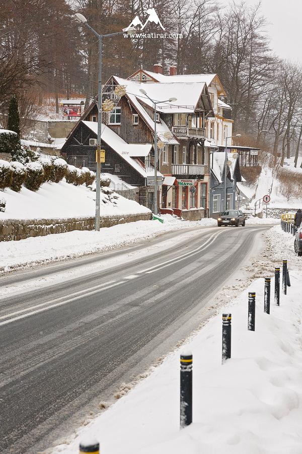 Zimowa wędrówka w Szklarskiej Porębie, Karkonosze, www.katiraf.com