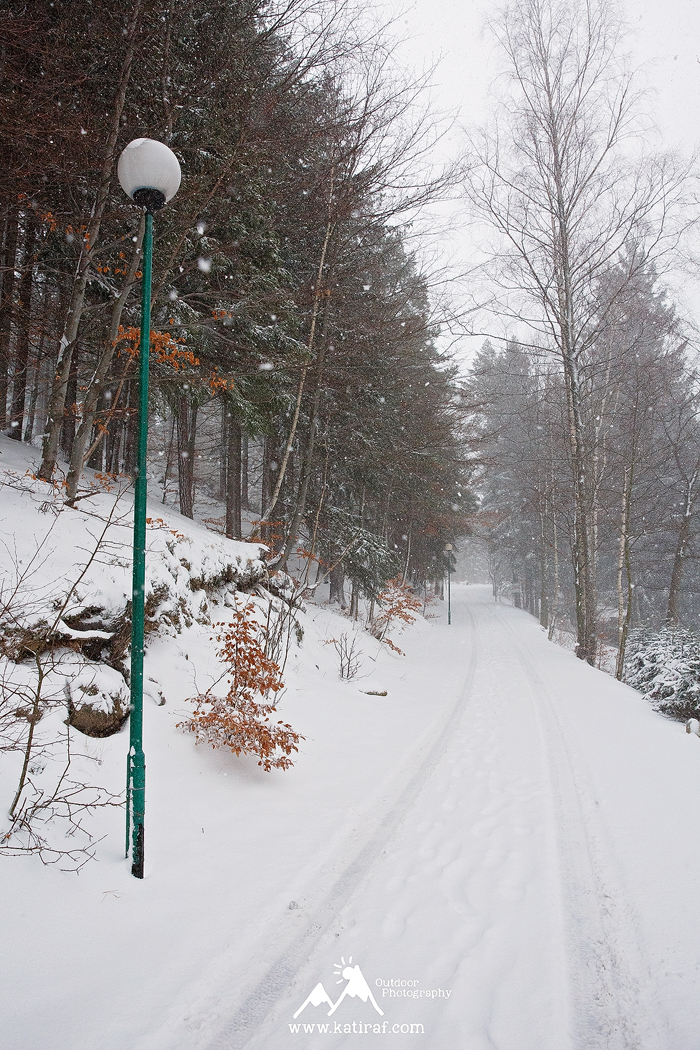 Zimowa wędrówka w Karpaczu, www.katiraf.com