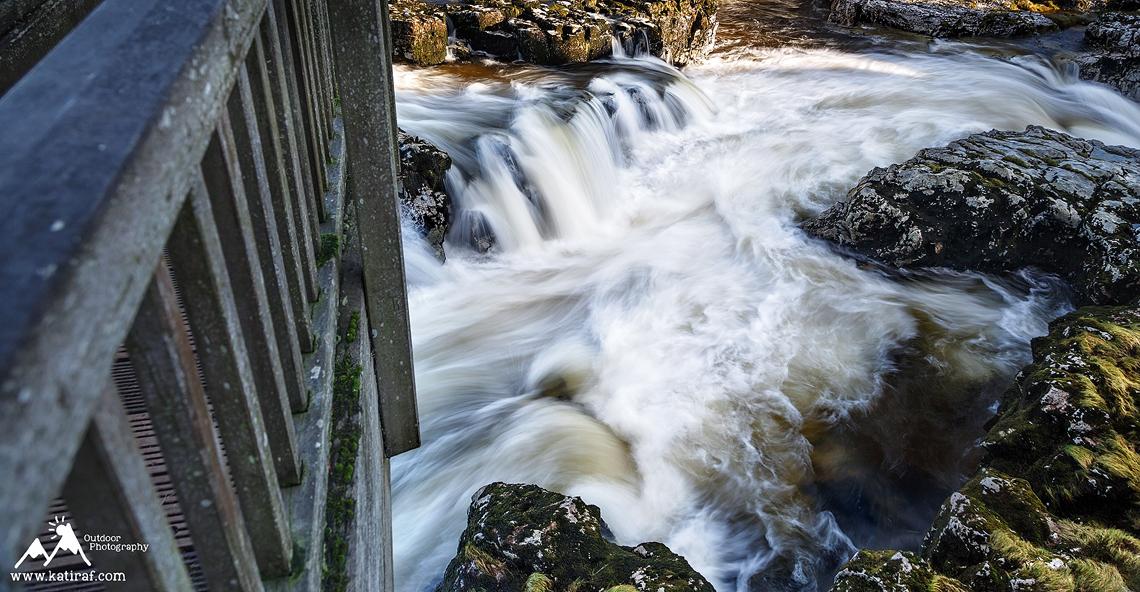 Wodospady Linton Falls, Grassington www.katiraf.com