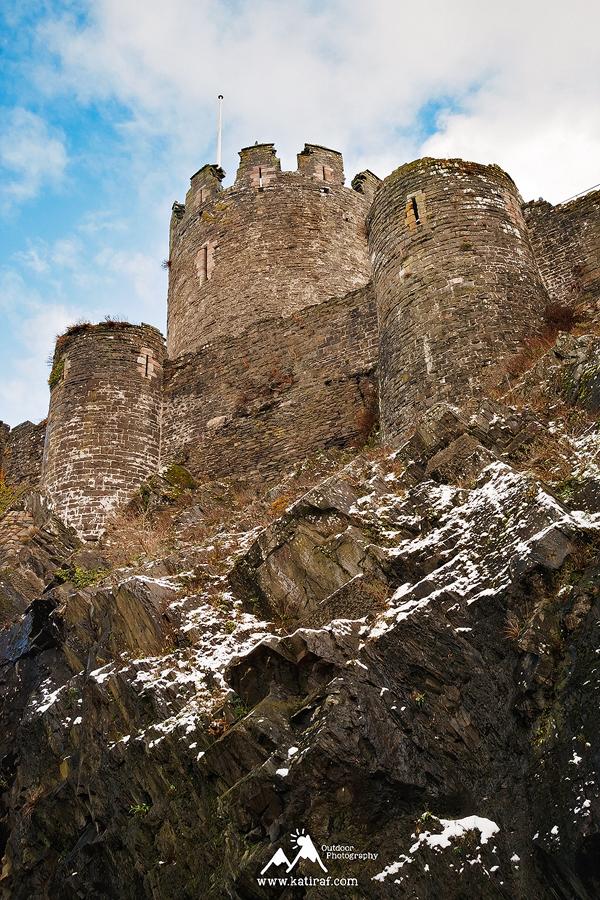 Zamki Północnej Walii - Zamki Conwy, Walia www.katiraf.com