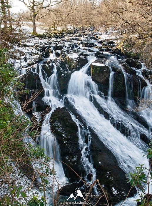 Wodospady Swallow Falls, www.katiraf.com