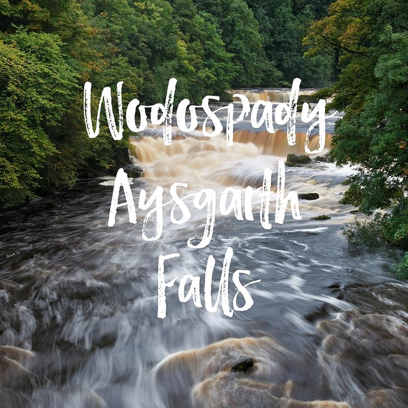 Wodospady Aysgarth Falls