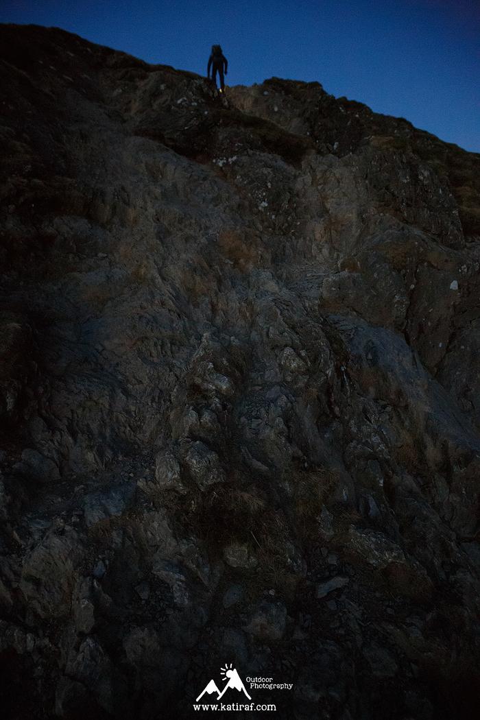 Wędrówka na Catbells na wschód słońca, www.katiraf.com