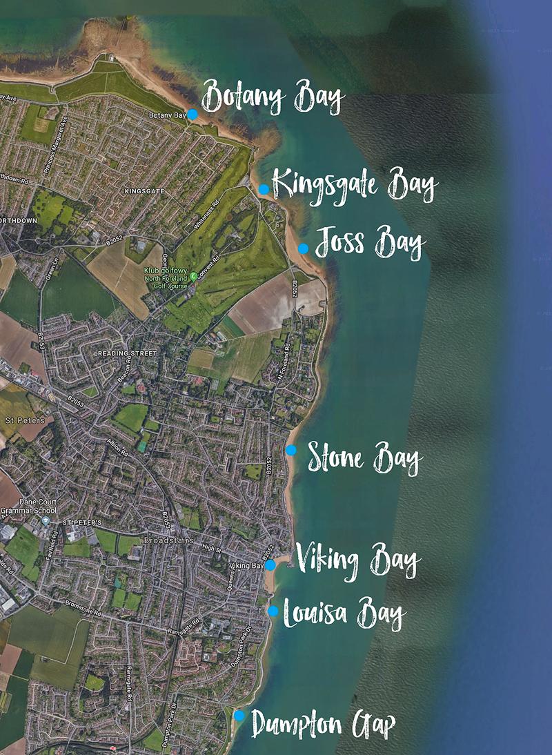 Plaża Botany Bay i plaża Kingsgate