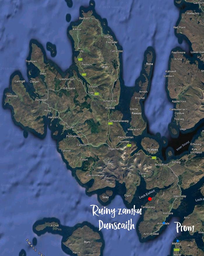 Skye mapa