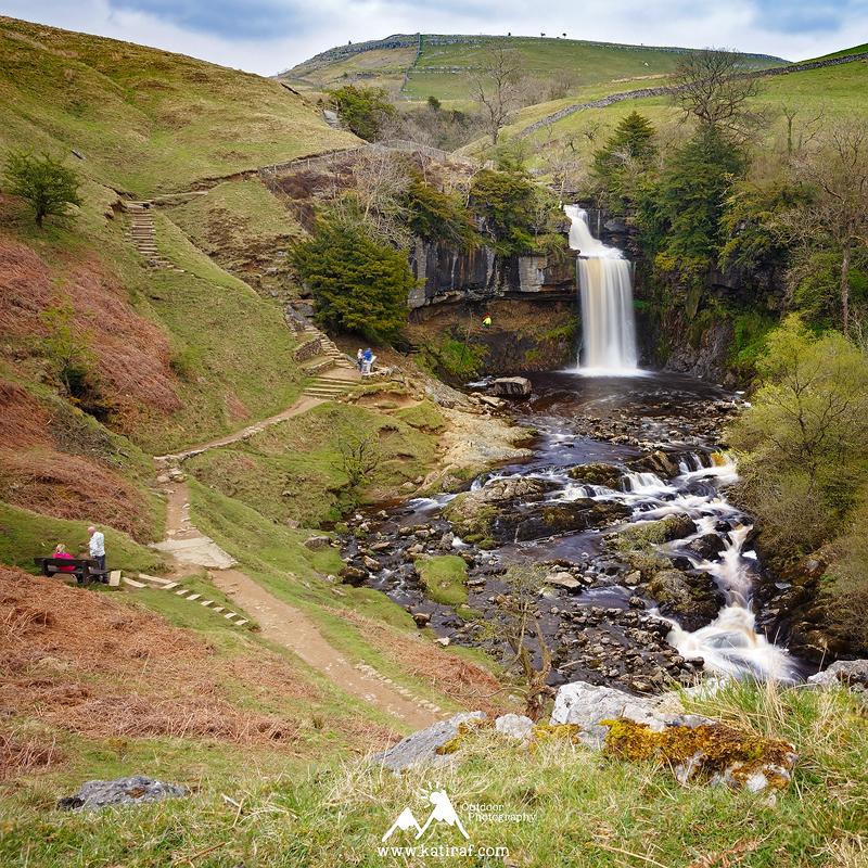 Wodospady Ingleton, Yorkshire Dales, Anglia, www.katiraf.com