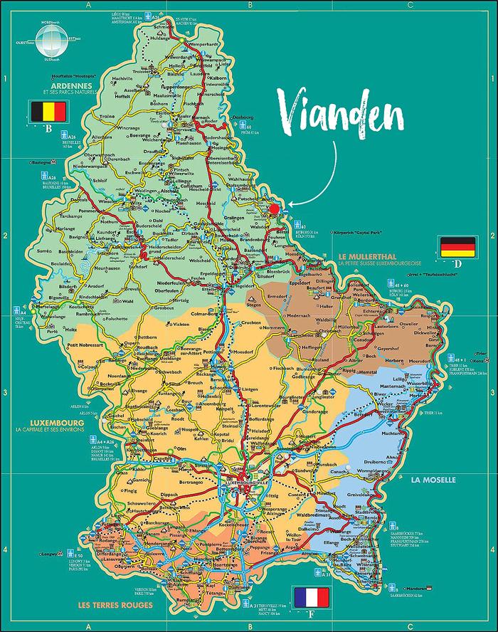 Ciekawe Miejsca W Luksemburgu Miasteczko I Zamek Vianden