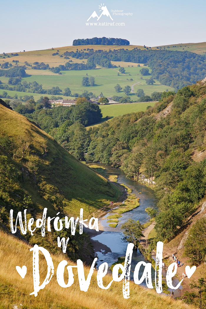 Wędrówka w Dovedale, Park Narodowy Peak District