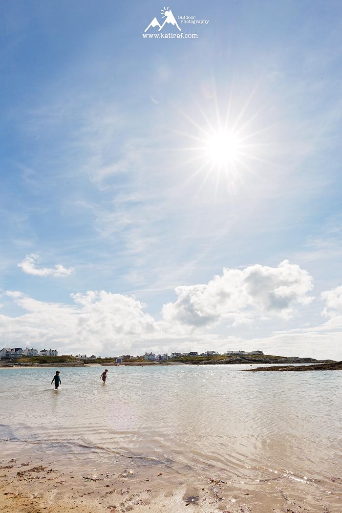 Plaża Trearddur, Holy Island, Północna Walia, www.katiraf.com