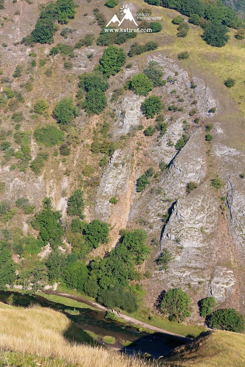 Wędrówka w Dovedale, Park Narodowy Peak District