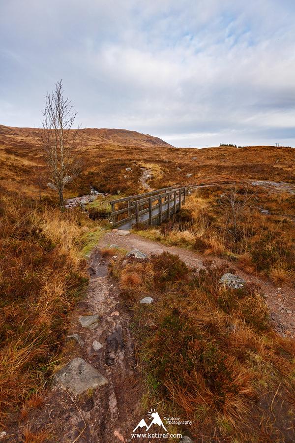 Wędrówka w Glen Coe, Szkocja
