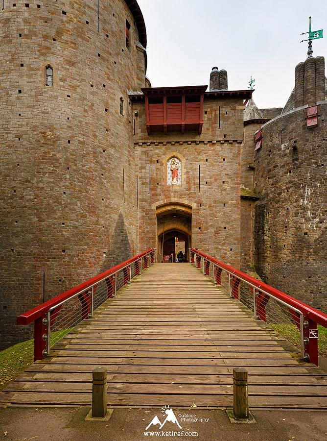 Zamek Castell Coch, Cardiff, Walia