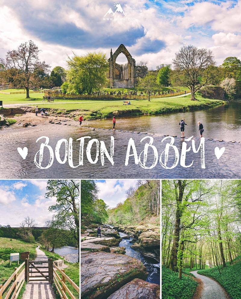Posiadłość Bolton Abbey, North Yorkshire, Anglia, www.katiraf.com