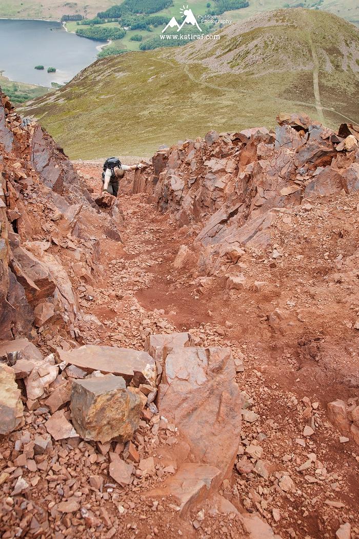 Wędrówka na High Stile i Red Pike, Butermere, Lake District, www.katiraf.com