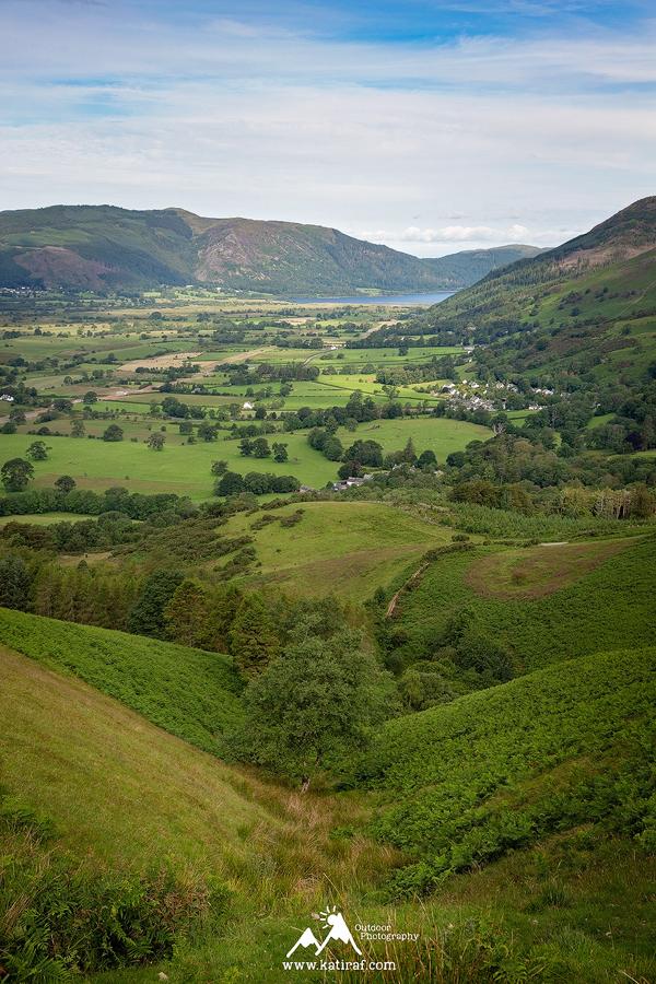 Punkt widokowy Latrigg, Keswick, Lake District, www.katiraf.com