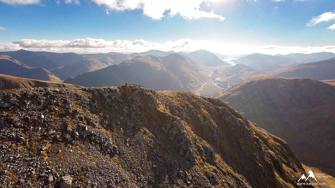 Wędrówka na Stob Dubh, Buachaille Etive Baeg. Glen Coe, Szkocja, www.katiraf.com