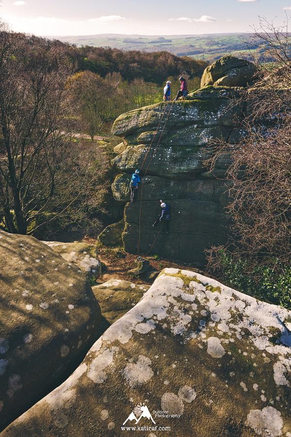 Skałki Brimham Rocks, North Yorkshire, Anglia www.katiraf.com