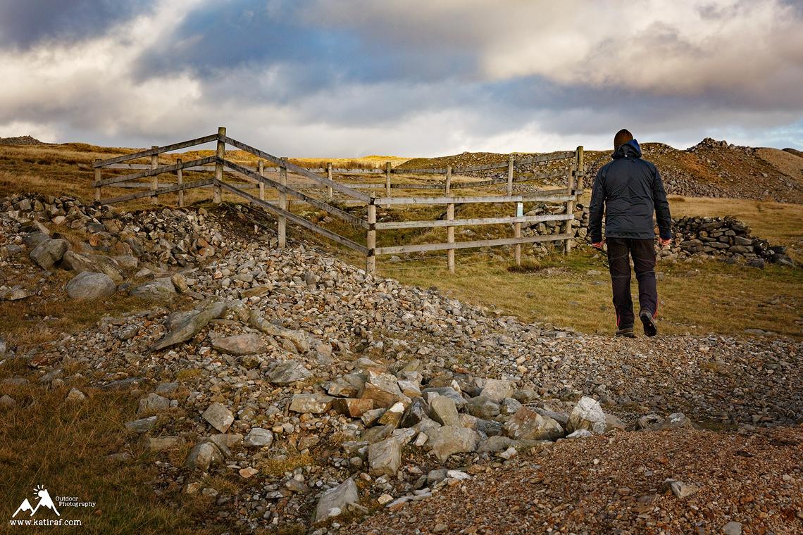 Wrzosowiska Grassington i Leadmining Trail, North Yorkshire, katiraf.com