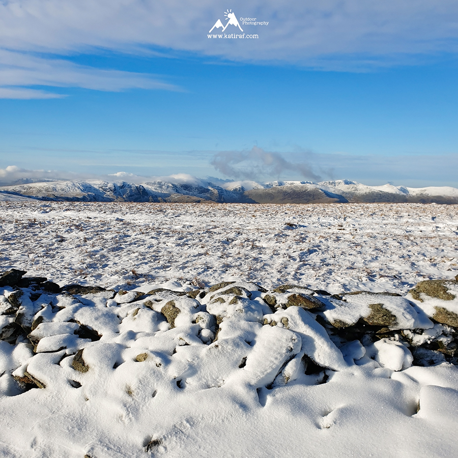 Zimowa wędrówka na High Street and Kidsty Pike, Lake District