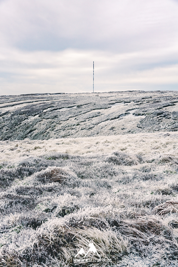 Wędrówka na Black Hill, Peak District National Park