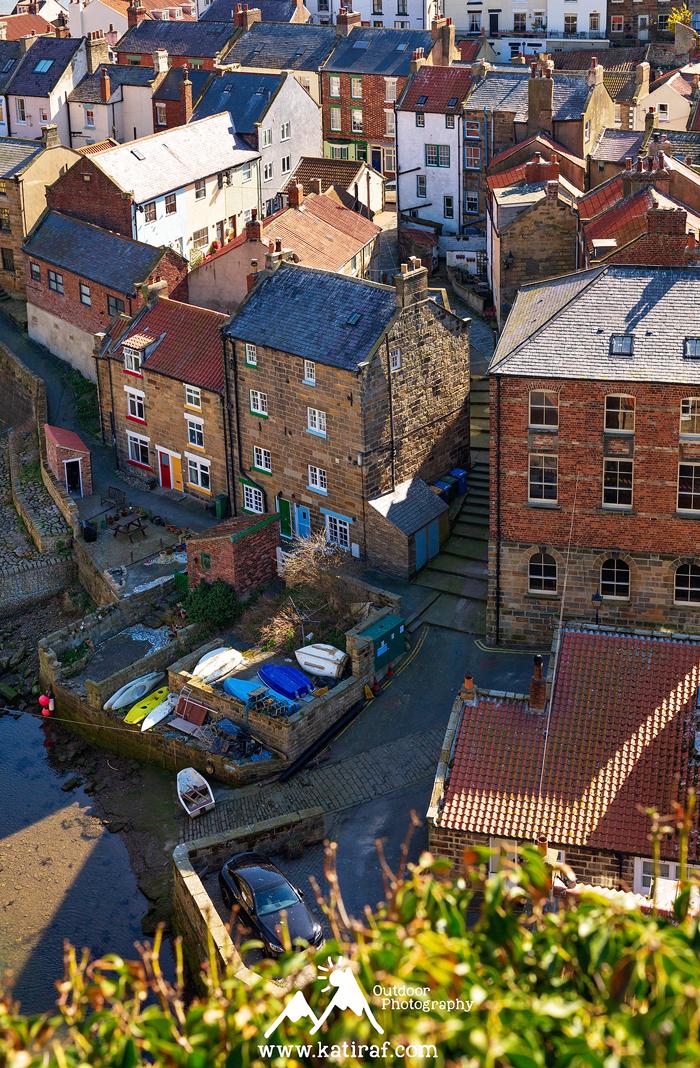Wędrówka w Staithes, Yorkshire www.katiraf.com