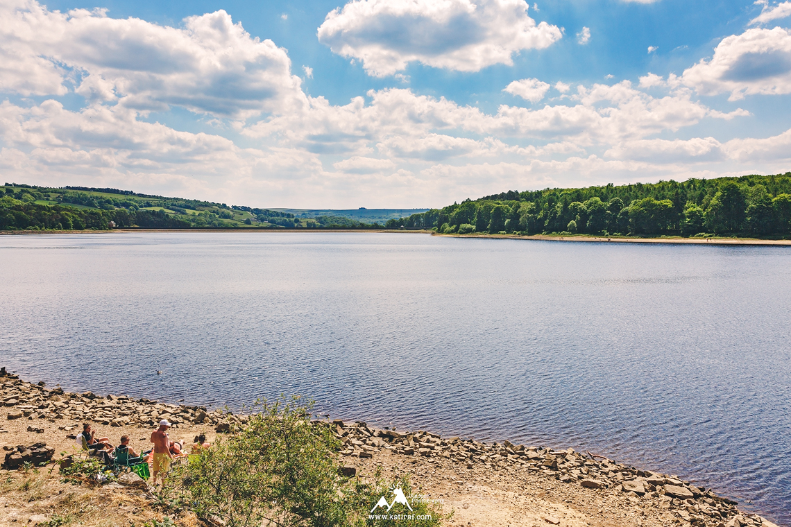 Spacer na zbiornikiem Swinsty Reservoir, www.katiraf.com